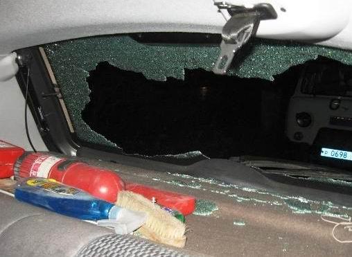 1 апреля 27-летний житель г. Миллерово будучи пассажиромв салоне Лады Приоры под управлением 36-летнего жителя Чертовского района напал