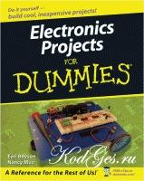 Книга Electronics Projects For Dummies