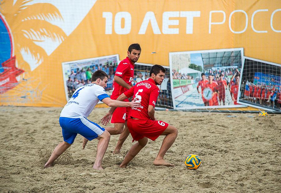 Пляжный футбол фото