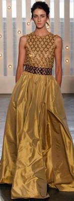 Модный золотой оттенок осени