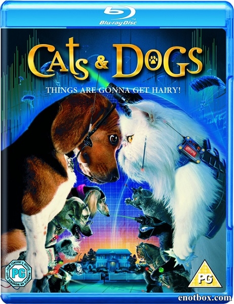 Кошки против собак / Cats & Dogs (2001/BD-Remux/BDRip/HDRip)