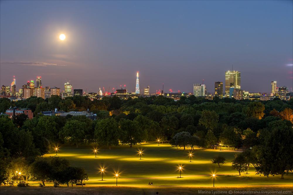 Лондон и светила