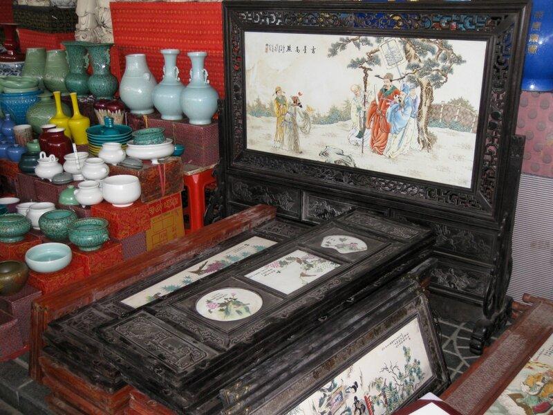 Картины, рынок Паньцзяюань, Пекин