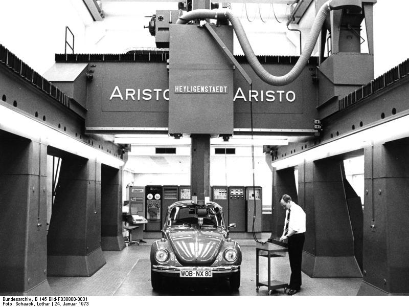 Wolfsburg, Volkswagen, Abtastanlage, VW Kдfer