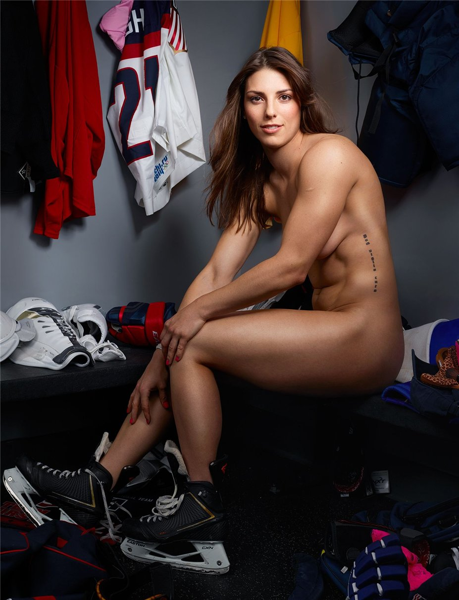 ESPN Magazine Body Issue 2014 - Hilary Knight / Хилари Найт