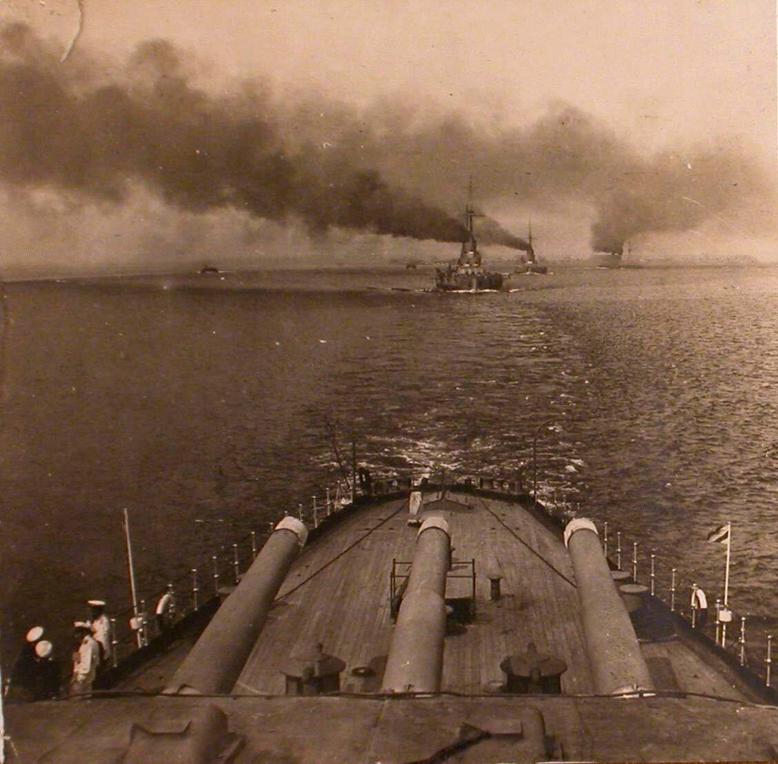 23. Вид части палубы линейного корабля