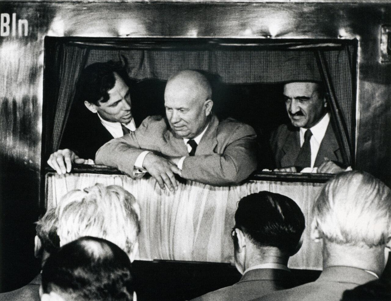 1955. Отъезд из ГДР