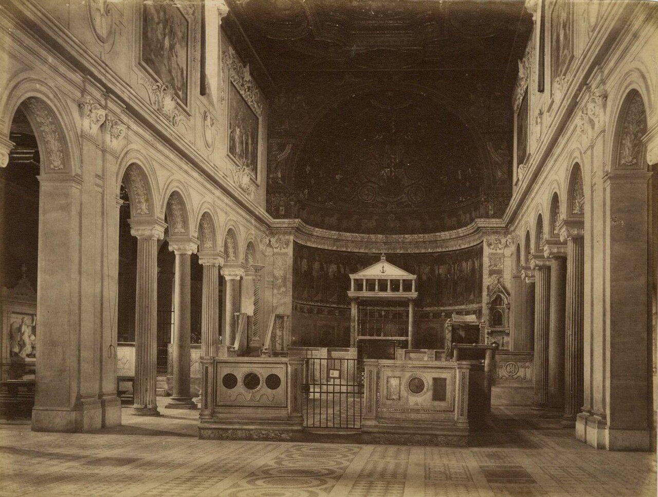 Базилика Святого Климента. 1870.