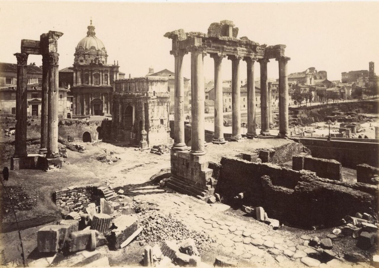 Храм Конкордии. 1870