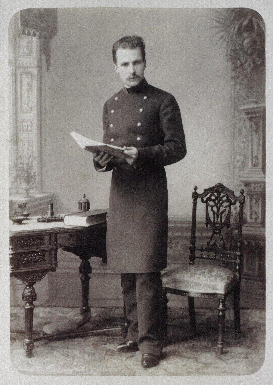 Портрет студента Санкт-Петербургского университета