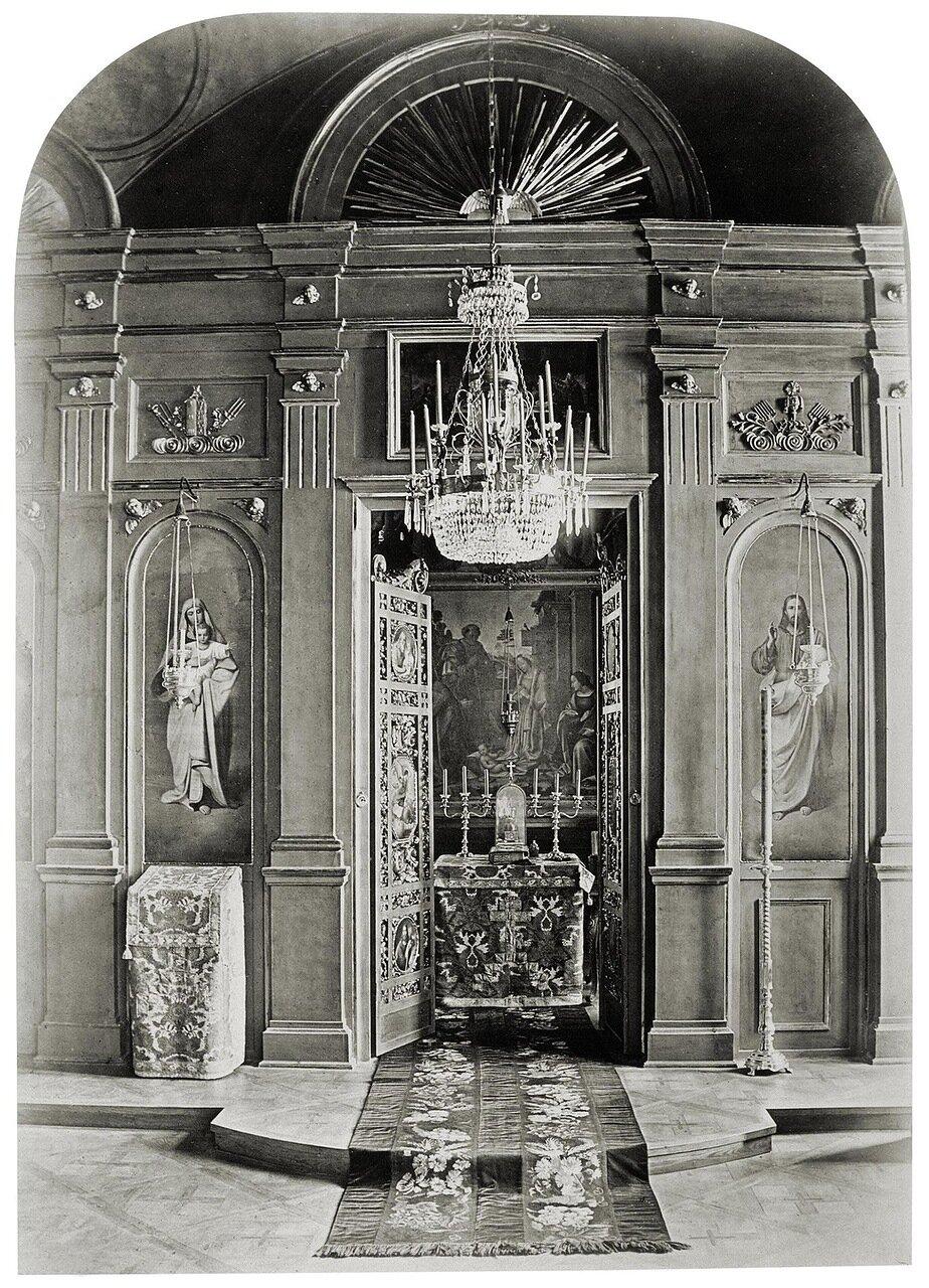 Дворец И.Ф. Паскевича в Гомеле. Домовая церковь