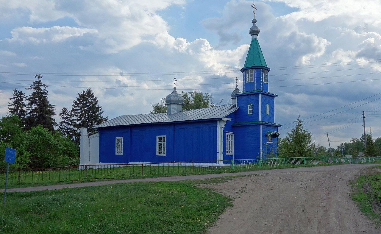 храм старый (деревянный)