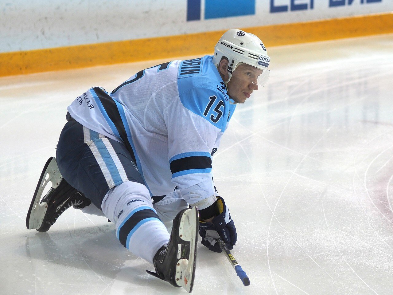 6Восток 1/2 плей-офф Металлург - Сибирь 08.03.2016