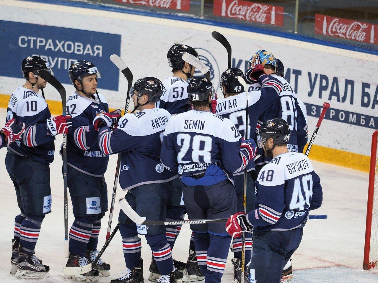 130Восток 1/2 плей-офф Металлург - Сибирь 08.03.2016