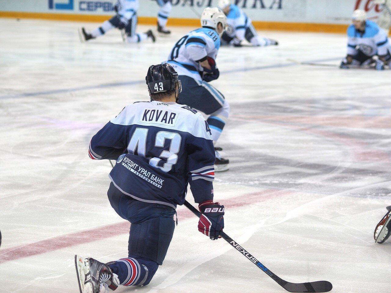 4Плей-офф 2016 Восток 1/2 Металлург - Сибирь 10.03.2016