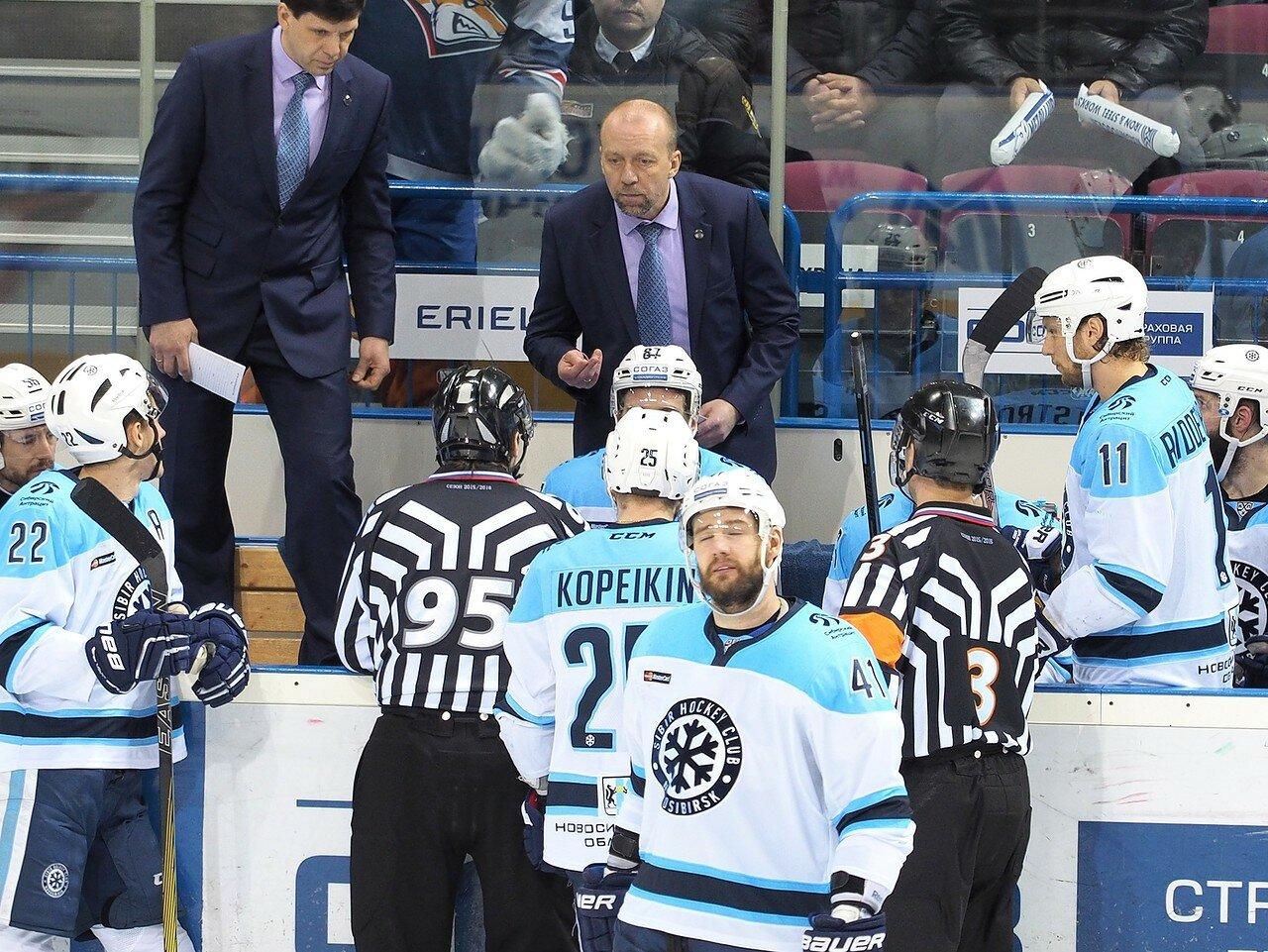 111Плей-офф 2016 Восток 1/2 Металлург - Сибирь 10.03.2016
