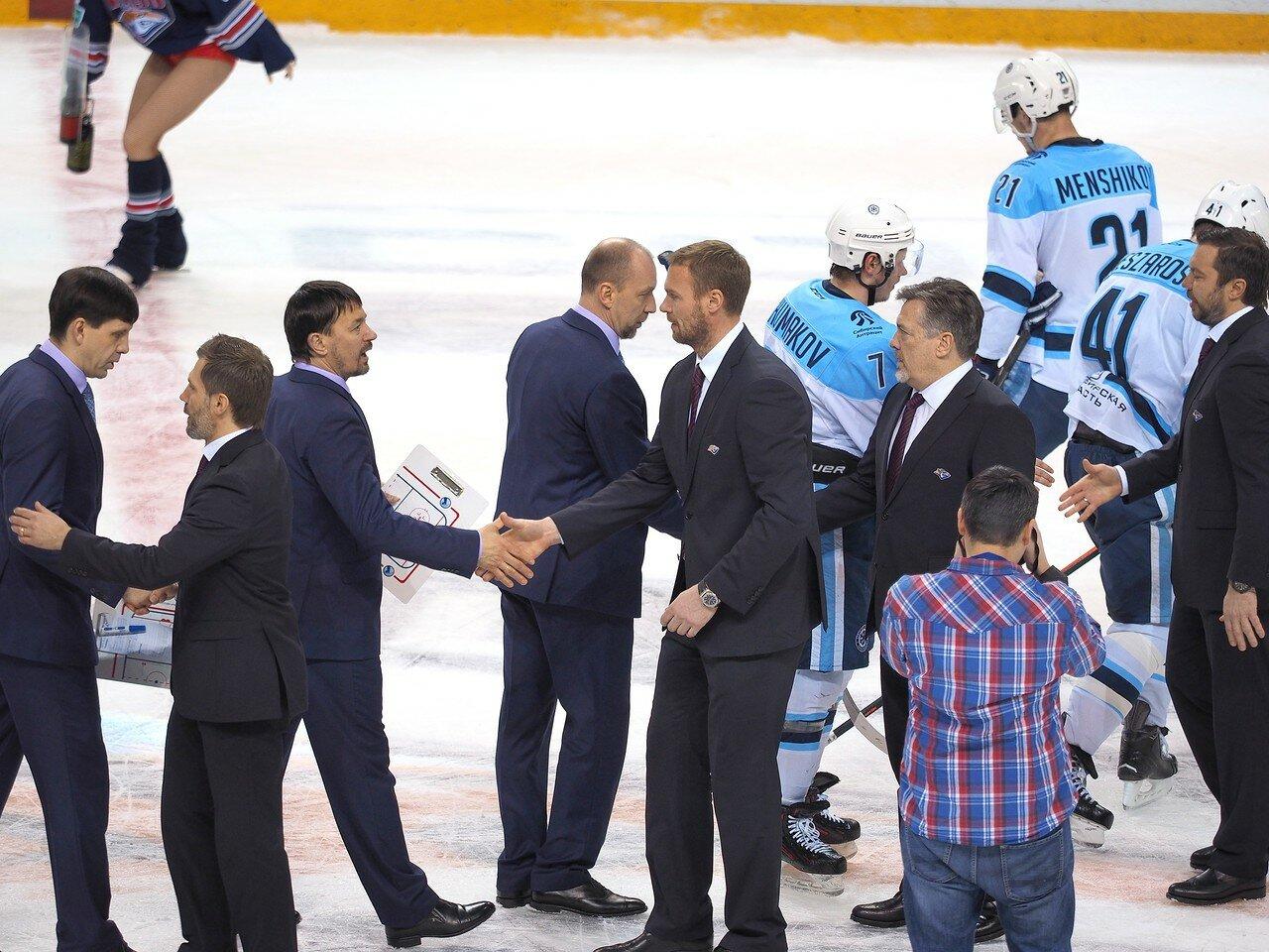 90Плей-офф 2016 Восток 1/2 Металлург - Сибирь 16.03.2016