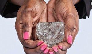 В Ботсване найден самый большой алмаз века