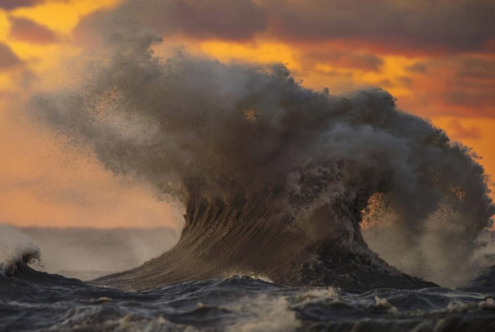 Грандиозные волны озера Эри