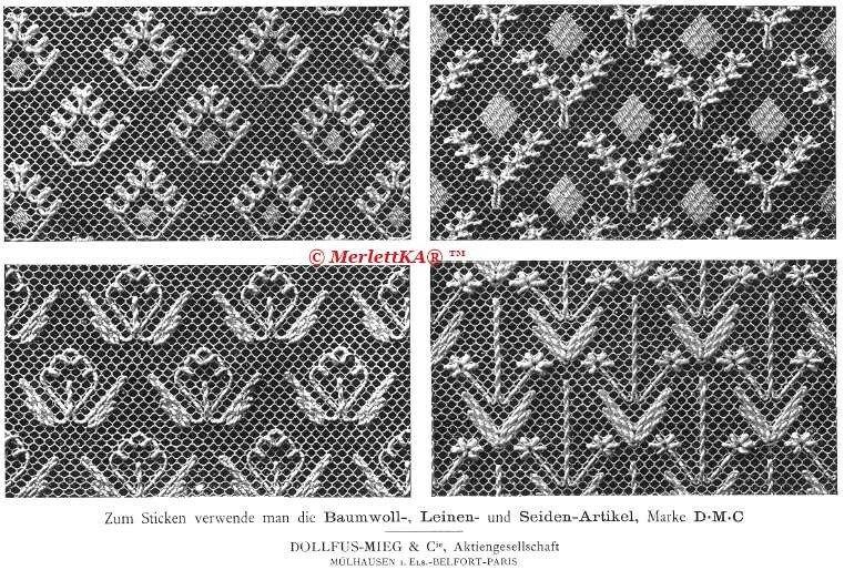 Рисунок для люневильской вышивки 386