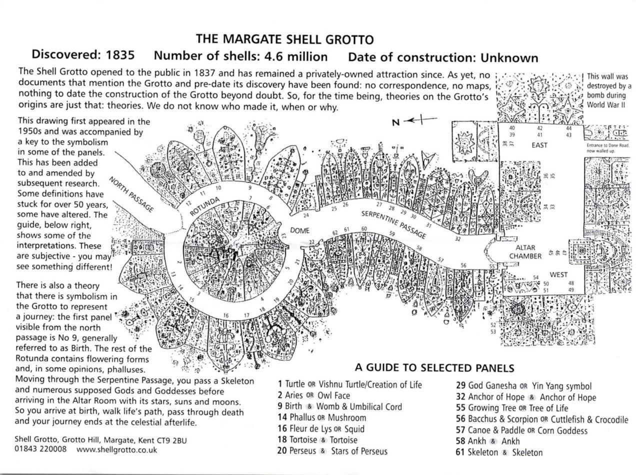 Британская загадка: Грот ракушек (Shell Grotto)