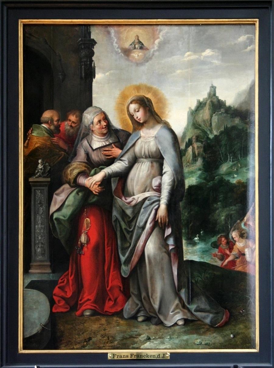 Sint-Pauluskerk - De Visitatie - Frans Francken II (1618)