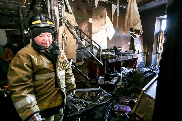 НаСахалине сгорела база отдыха РЖД стоимостью около 300 млн рублей