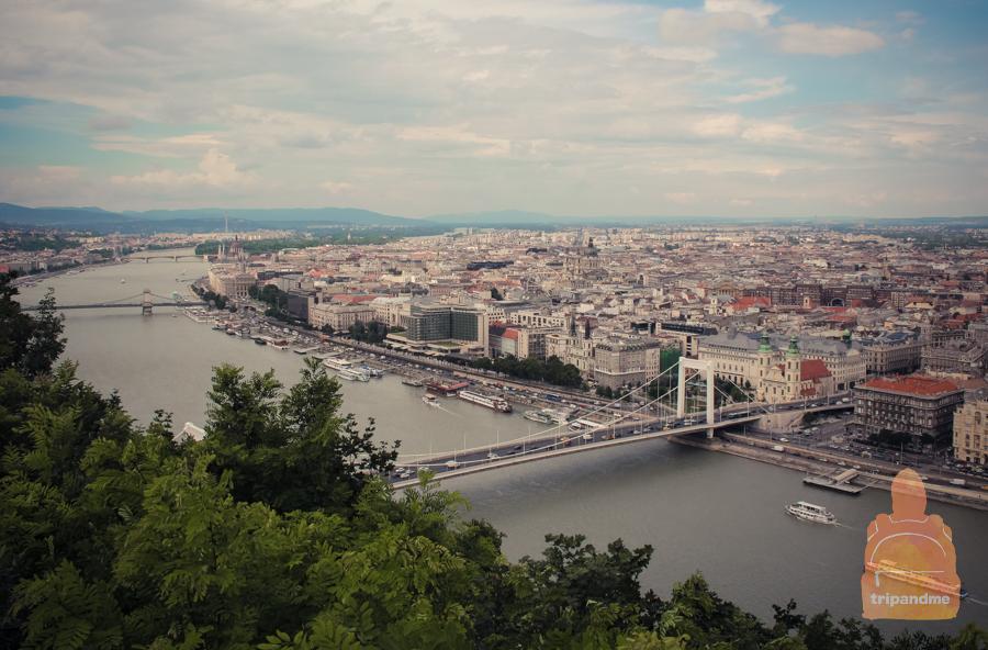 Будапешт раскинулся на двух берегах Дуная