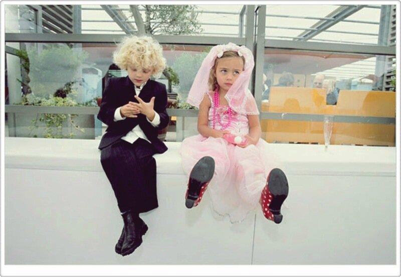 Смешные факты о любви и свадьбе глазами детей