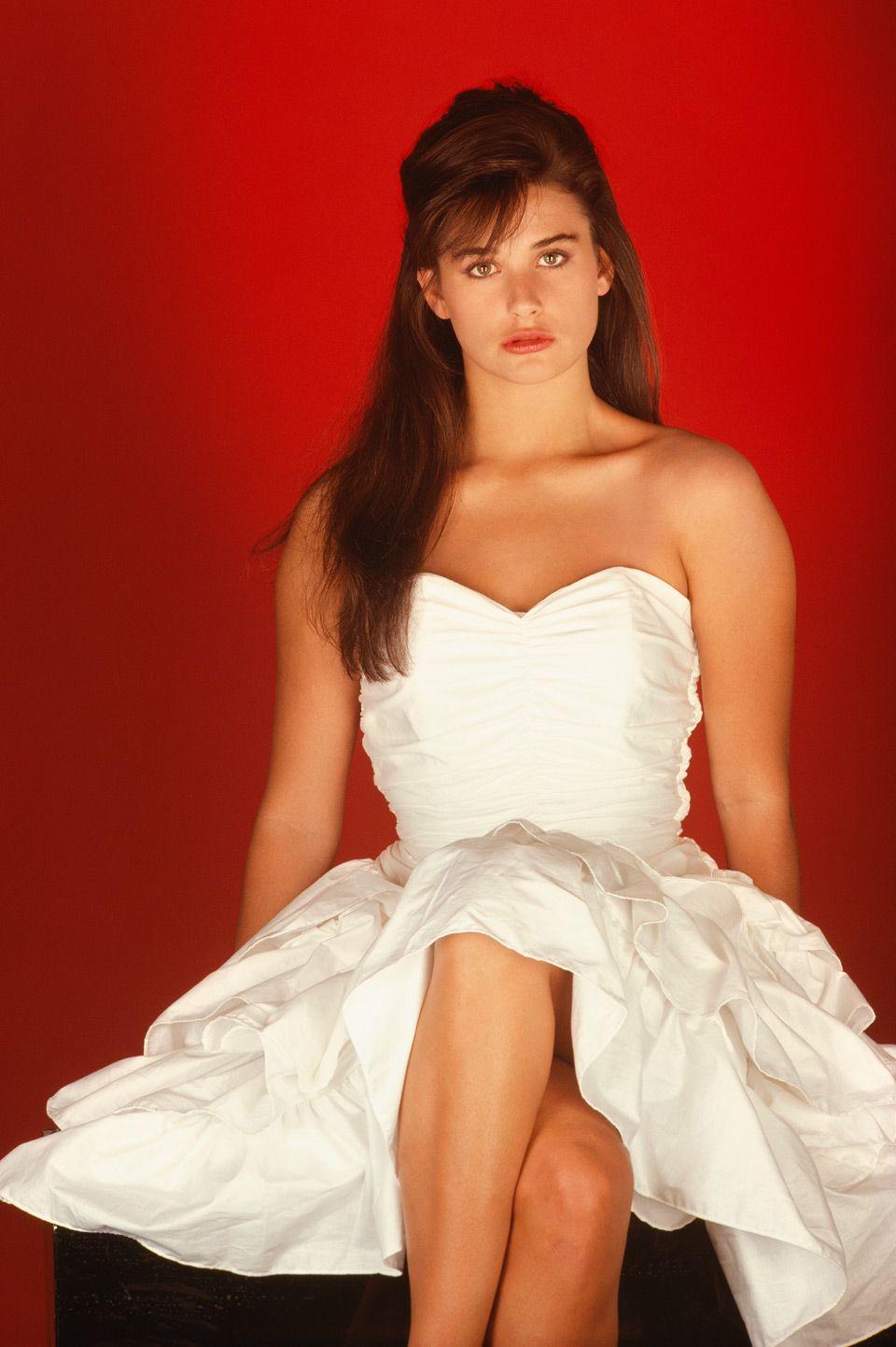 1984 год. 22-летняя Дэми. Фото: R.Shoshana