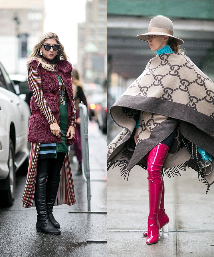 How to Wear High Boots: Streetstyle from New York Fashion Week Fall/Winter 2016-2017 photo 7
