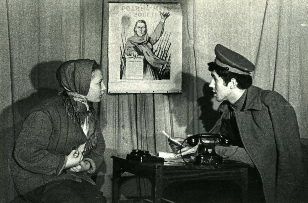 С.Садальский.  Академический экзамен по мастерству за 1 курс. ГИТИС, 6 июня 1970 года.