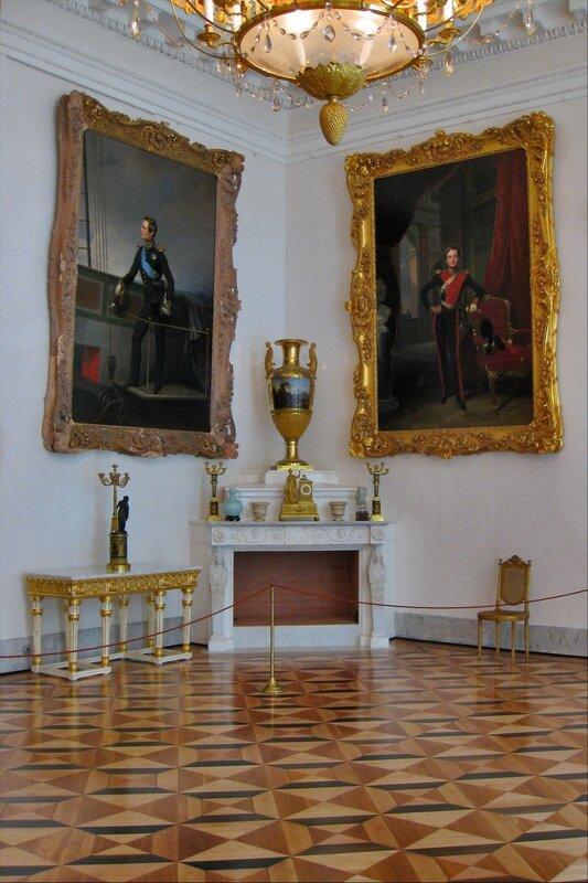 Портреты семьи Николая I, Александровский дворец, Царское Село