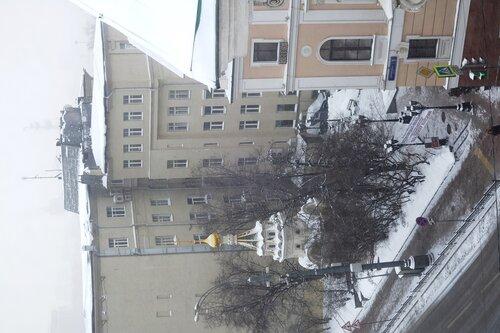 Парадный зал Дома Пашкова. Вид из окна