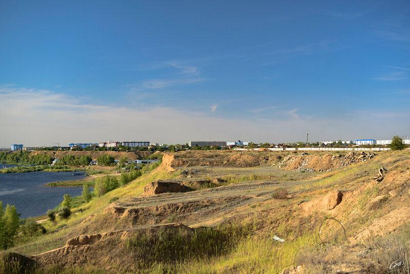 Волжский, свалки и мусор на берегу реки Ахтуба