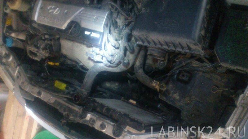 Замена радиатора охлаждения двигателя Hyundai Accent