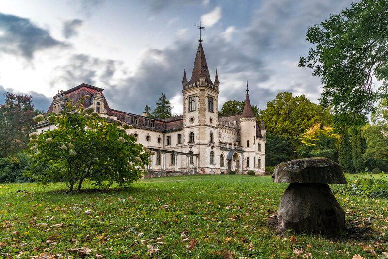 Латвия. Замок Штомерзее