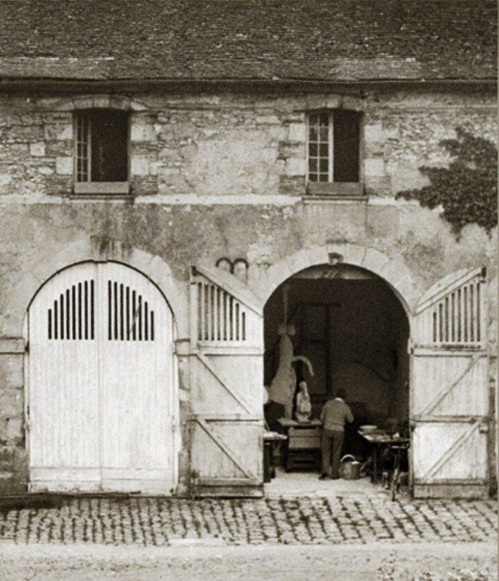 1932. Пикассо в скульптурной мастерской, Буажелу
