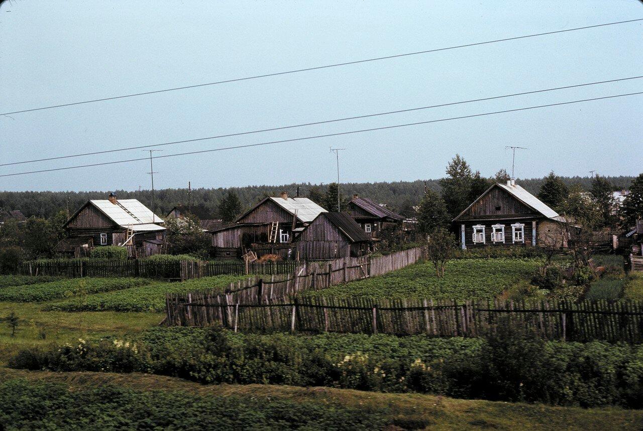 Деревня в Прикамье. 150 км от Перми