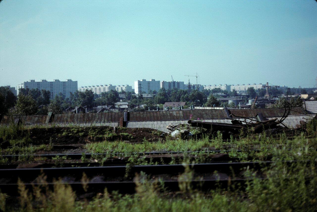 Пермь. Старые и новые жилые дома