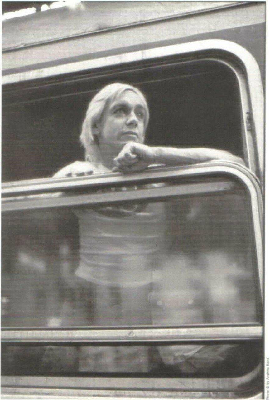 1976. Игги Поп в поезде