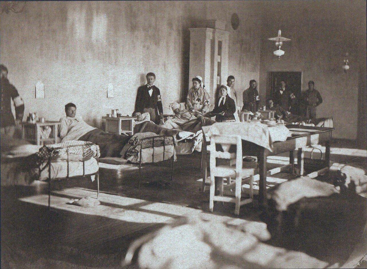 16. Полевой лазарет в селе Пордим, ноябрь 1877
