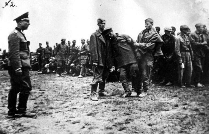 советские военнопленные, русские пленные, русские в плену, пленные красноармейцы, зверства фашистов над пленными красноармейцами