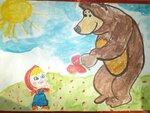 "Лебедкина Диана (рук. Лихачева Елена Владимировна) - ""Маша и медведь"""