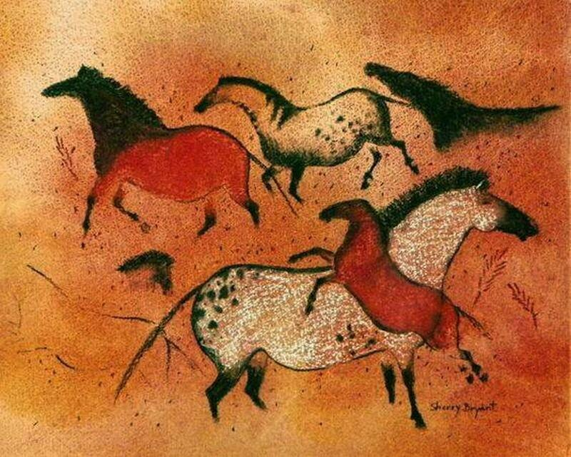 Native american animal paintings