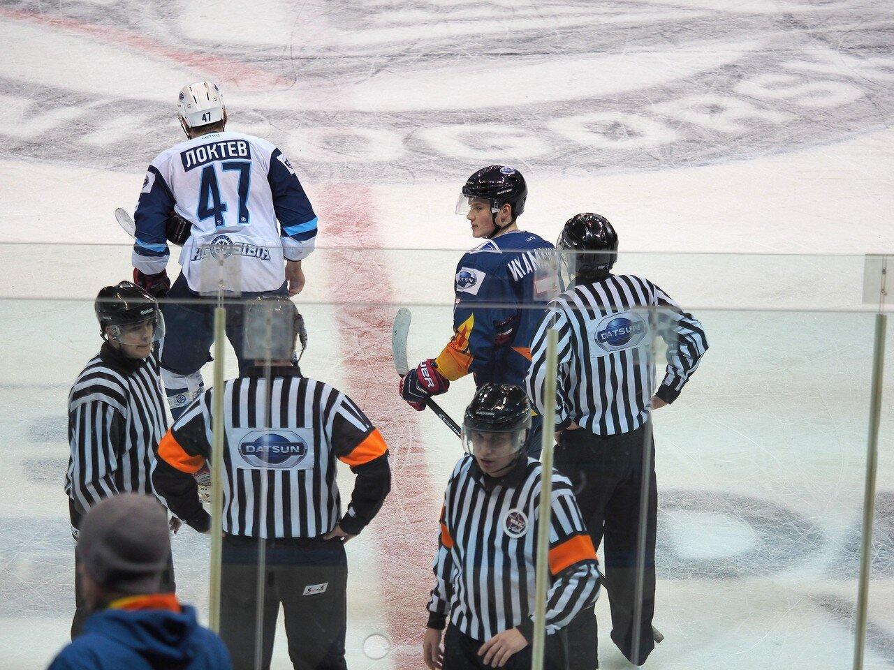 78Плей-офф МХЛ 2016 1/4 Стальные Лисы - Сибирские Снайперы 21.03.2016