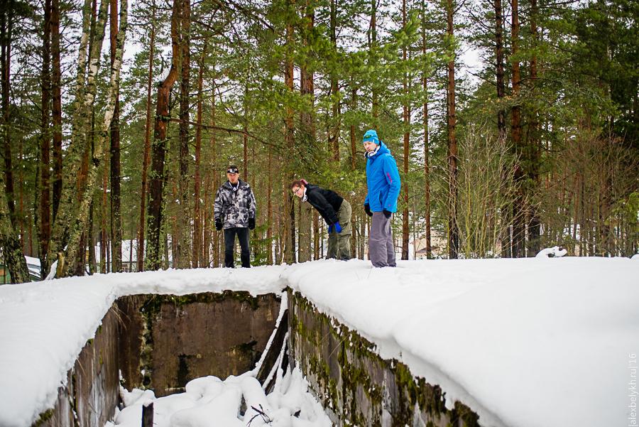Командно-диспетчерский пункт форта Ино