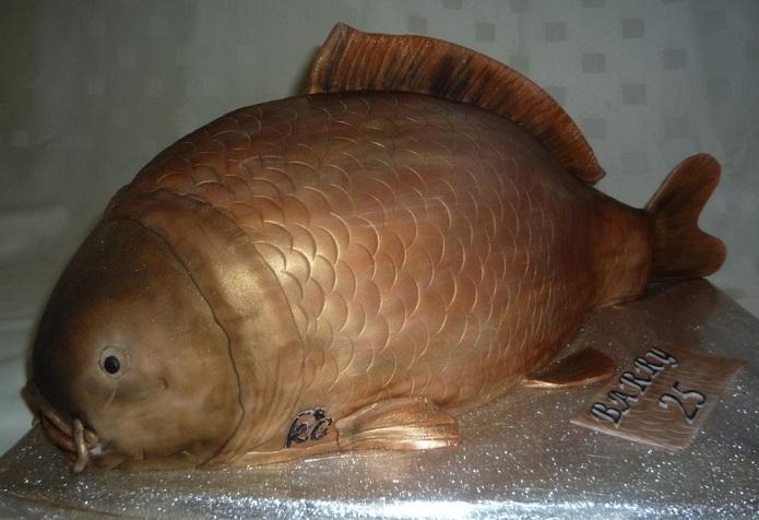 Рыбный торт. Подарок для мужчины