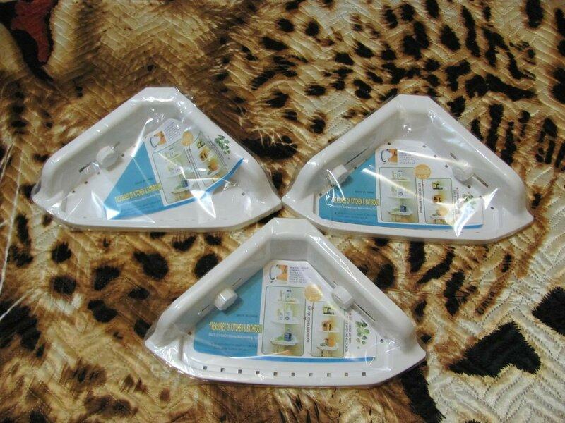 ChinaBuye: Пластиковая угловая полочка на присосках