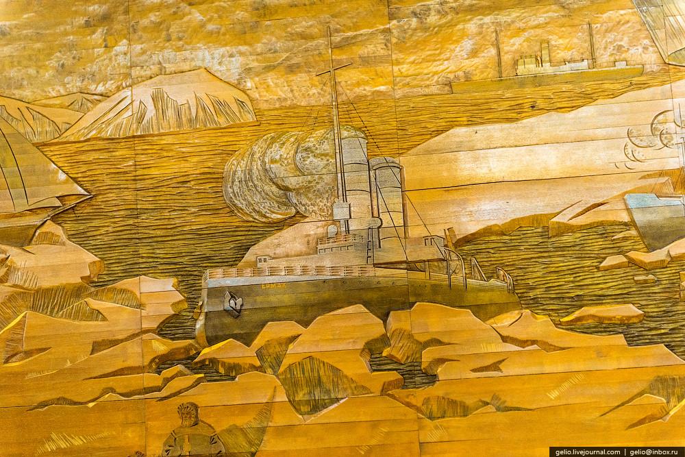 Мурманск Крупнейший в мире город, расположенный за Северным полярным кругом. Он находится на скалист